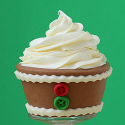 Gingerbread Cupcake Wrappers