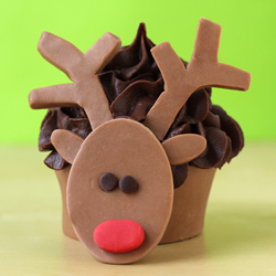 Rudolph Cupcake Wrappers