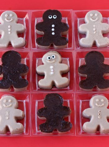 Caramel Custard Gingerbread Men