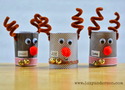 Toilet Paper Roll Reindeer Fun Family Crafts