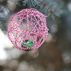 Baker Twine Ornament