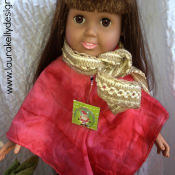 Tie Dyed Bandana Doll Wrap