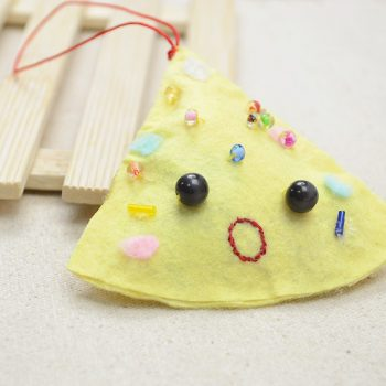 Christmas Triangle Cookie Ornament