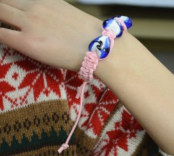 Beaded Suede Cord Bracelet