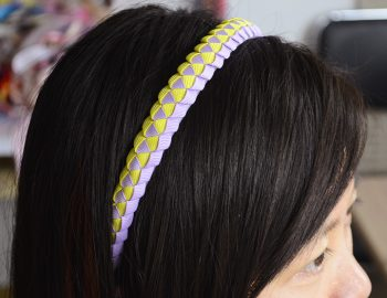 Braided Headbands with Ribbon