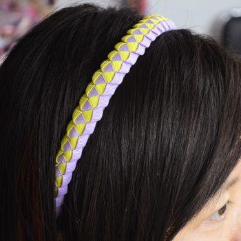 Braided Headbands with Ribbon