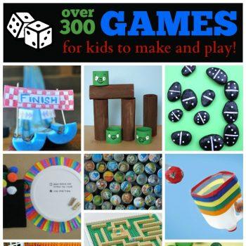 Homemade Games Ideas for Kids