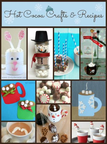 hot cocoa crafts and recipes