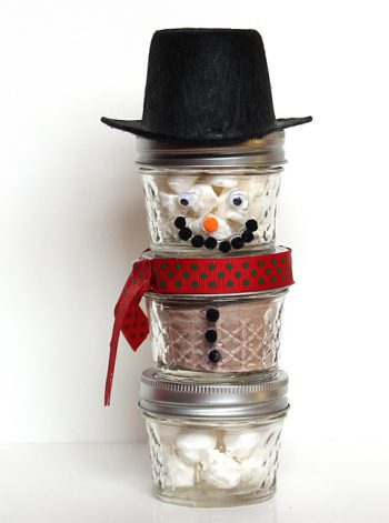Snowman Hot Cocoa Gift