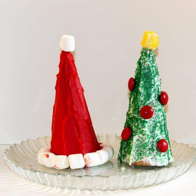 Christmas Cone Treats