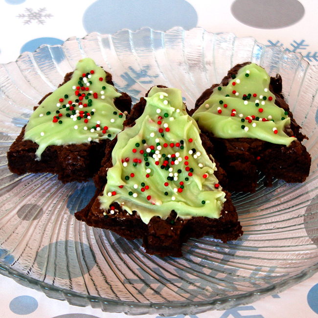 Christmas Tree Brownies | Fun Family Crafts - photo#12