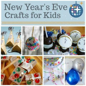 New Year's Crafts and Recipes