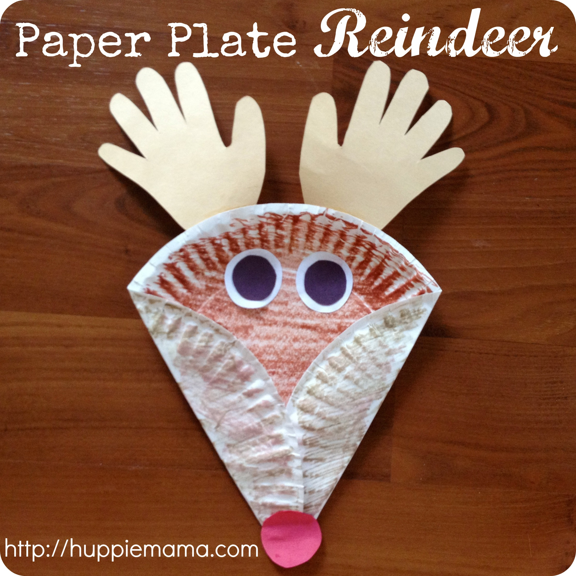 Paper Plate Reindeer Fun Family Crafts