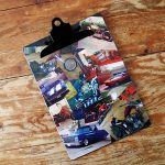 Mod Podge Photo Collage Clipboard for Him