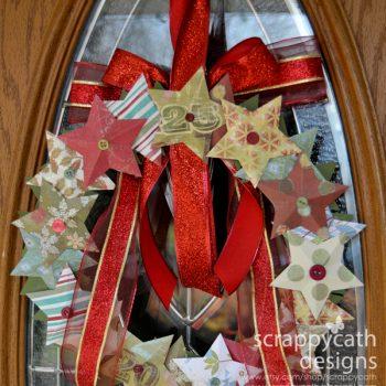 Holiday Star Wreath