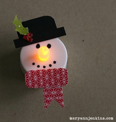 Snowman Tea Lights Good Ideas