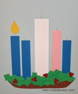 Paper Advent Wreath