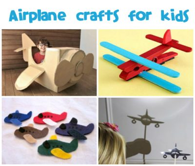 Airplane Crafts for Kids at @funfamilycrafts
