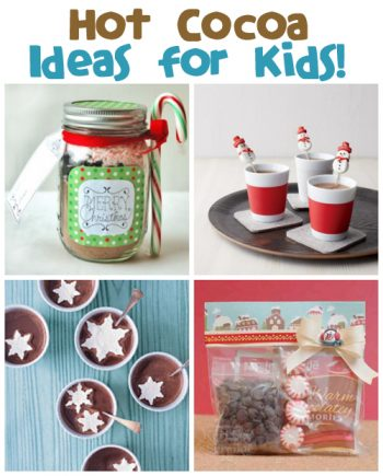 Hot Cocoa Ideas at @funfamilycrafts