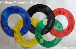Collage Olympic Rings