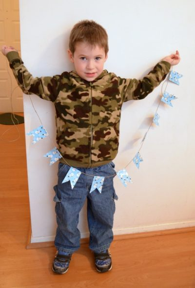 Duck Tape Holiday Banner