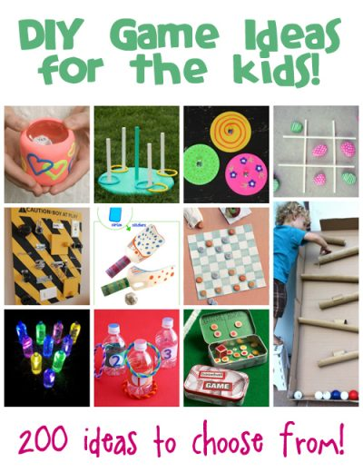 homemade games ideas for kids fun family crafts