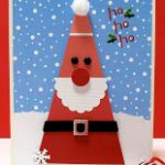 Paint Chip Santa