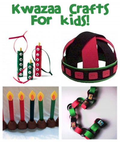 Kwanzaa Crafts and Recipes @funfamilycrafts