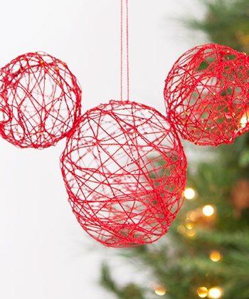 Mickey String Ornament