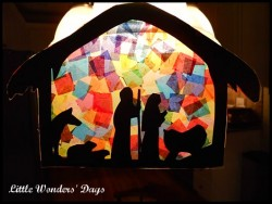 Nativity Sun Catcher