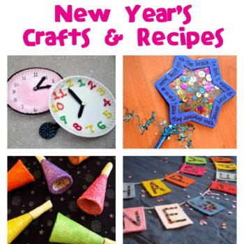 New Year's Crafts & Recipes