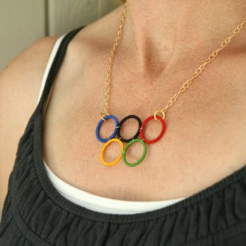 Olympic Rings Necklace
