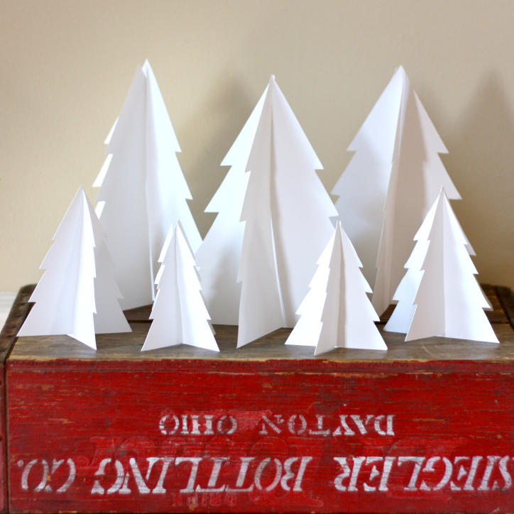 3d Paper Trees