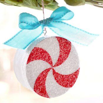Peppermint Ornament