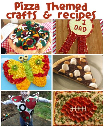Pizza Crafts & Recipes at @funfamilycrafts