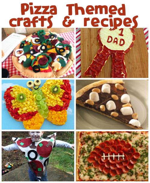 Pizza Crafts & Recipes at @funfamilycrafts