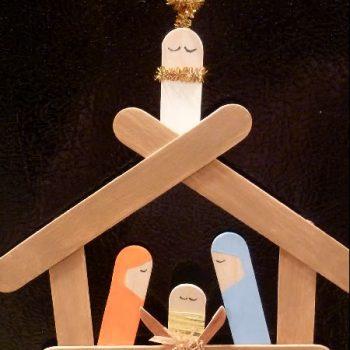 Popsicle Stick Nativity