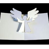 Pop-Up Angel Card