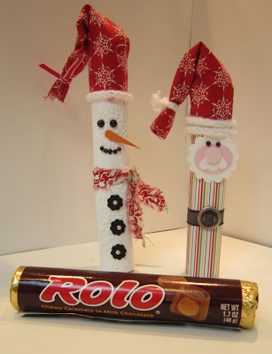 Rolo Santa and Snowman