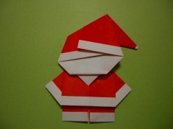 Santa Origami