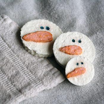 Snowman Soap Experiment