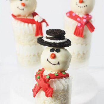 Snowman Push-up Pop