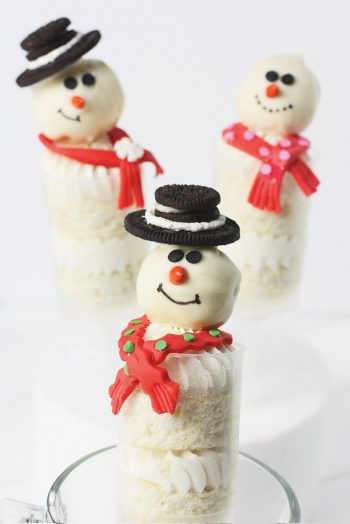 Snowman Push-up Pop