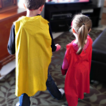 T-shirt Superhero Capes