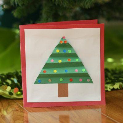 Christmas Tree Holiday Card