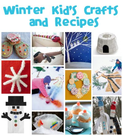 Winter Crafts and Recipes from @funfamilycrafts