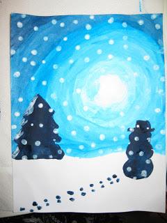 Winter Wonderland Art