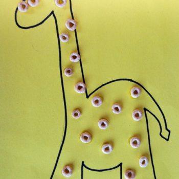 Cheerios Giraffe