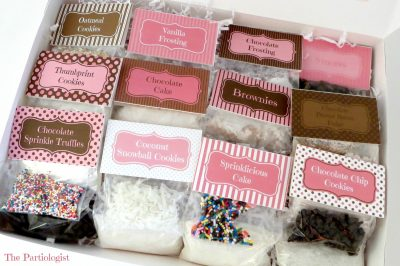 DIY Easy Bake Oven Mixes
