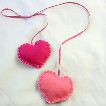 Super SImple Felt Hearts